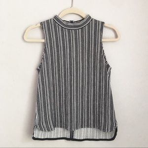 Madewell Mockneck Sleeveless Top